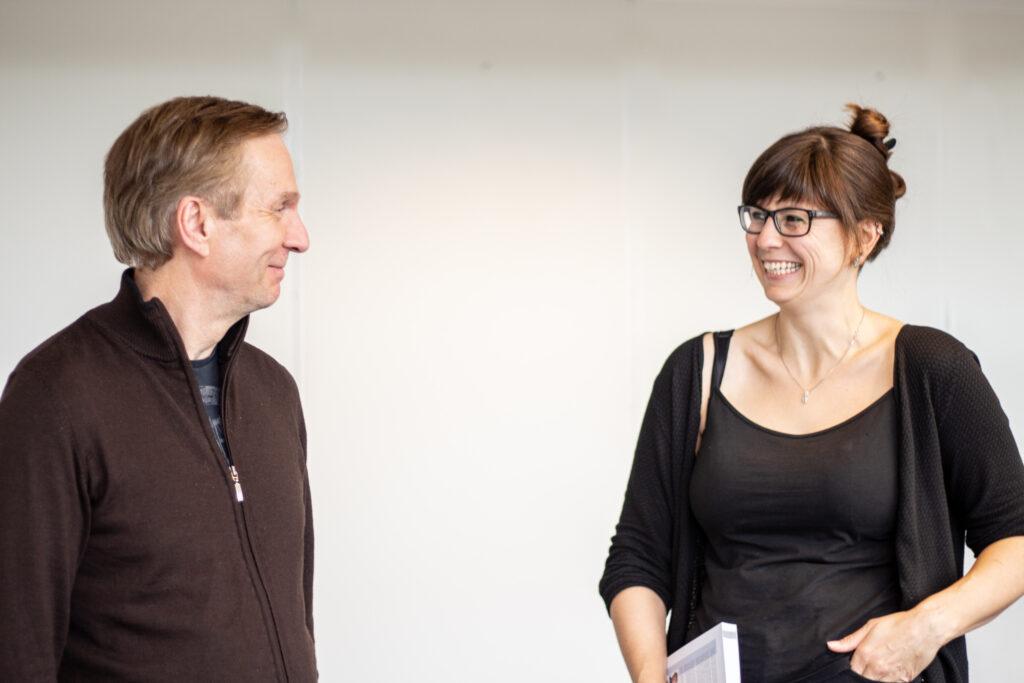 Karl Johan Johansen og Anne Hirrich (image)