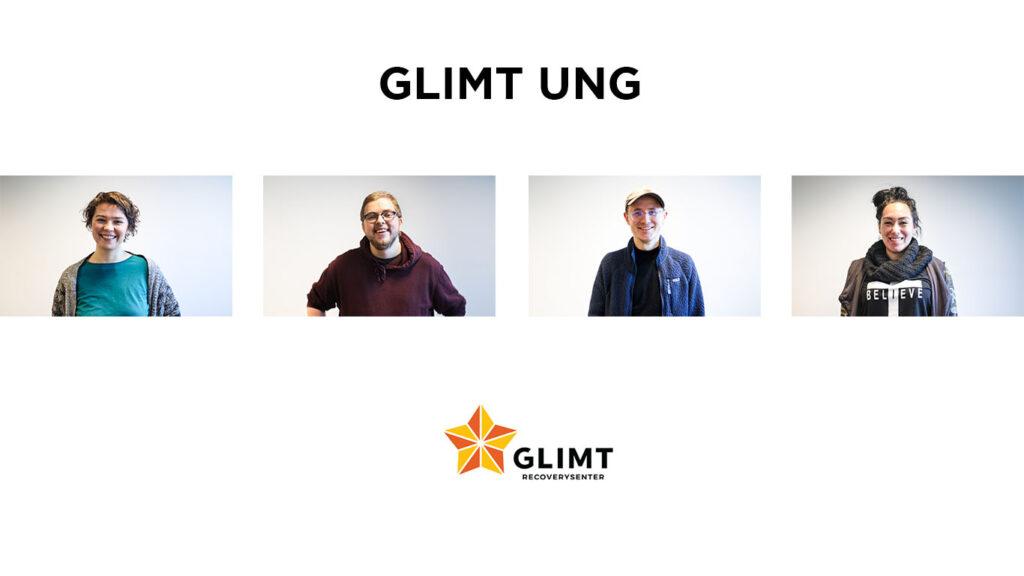 De ansatte på glimt ung: Anette, Nikolai, Mikkel og Merethe (image)