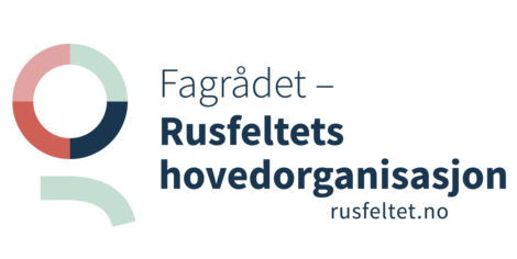 Logo Fagrådet Rusfeltets hovedorganisasjon (bilde)