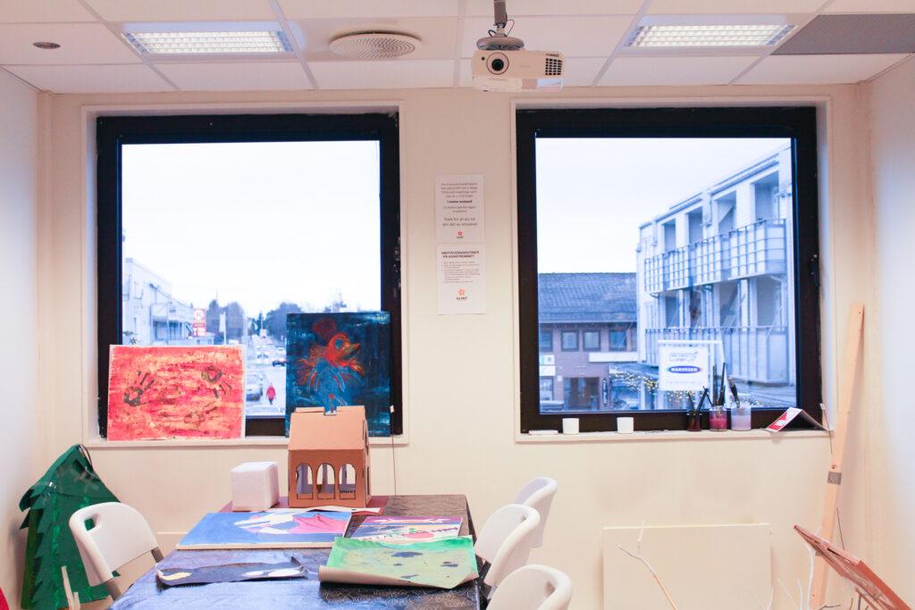 Kunstrommet på Glimt Recoverysenter (bilde)