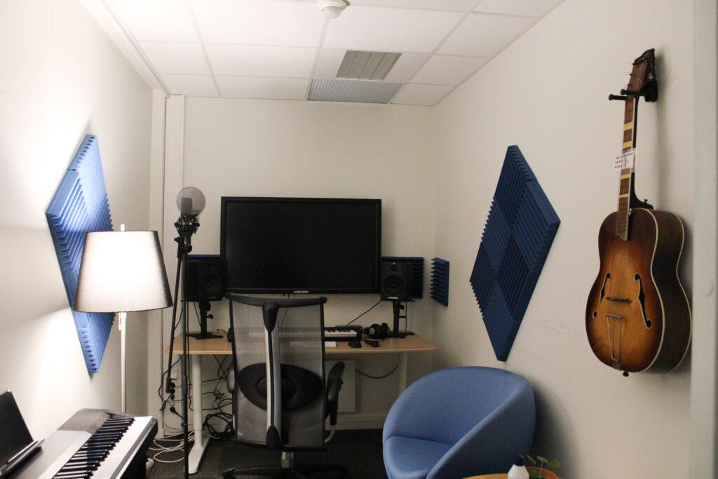 Lydstudio på Glimt Recoverysenter (bilde)