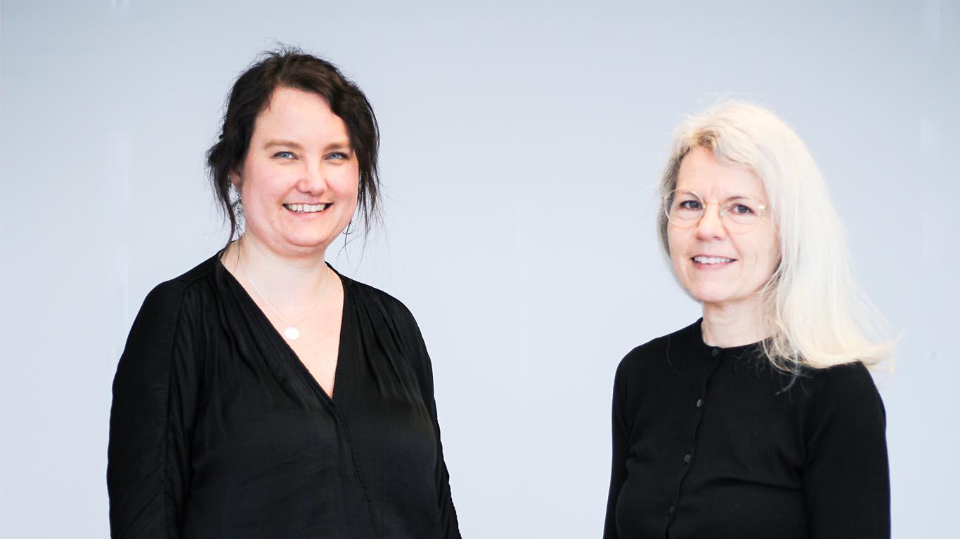 Juni Høiseth og Marian Ådnanes (bilde)