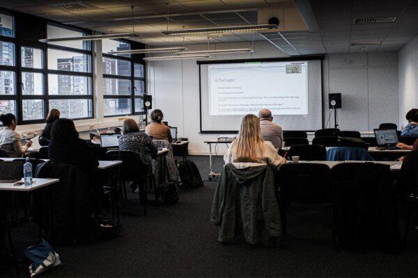 Klasseromsundervisning på KBT (bilde)