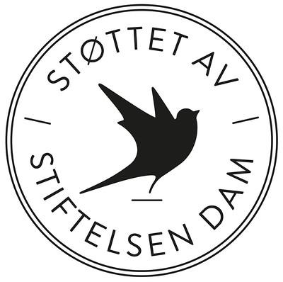 Støttet av Stifelsen Dam (bilde av logo)