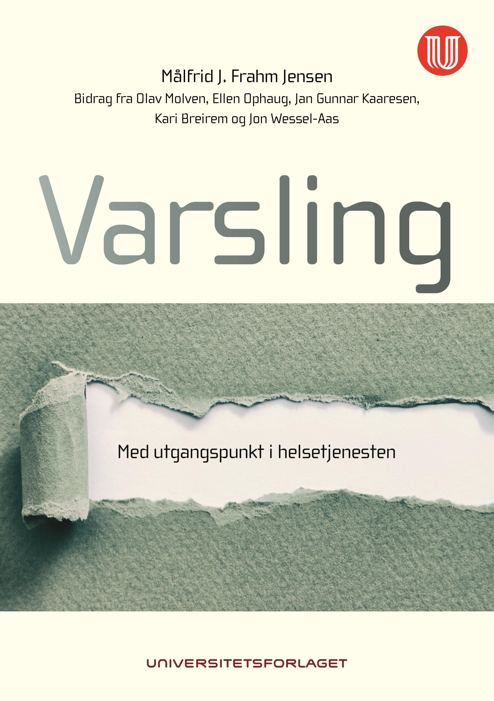 Forside av boka varsling - med utgangspunkt i helsetjenesten (bilde)