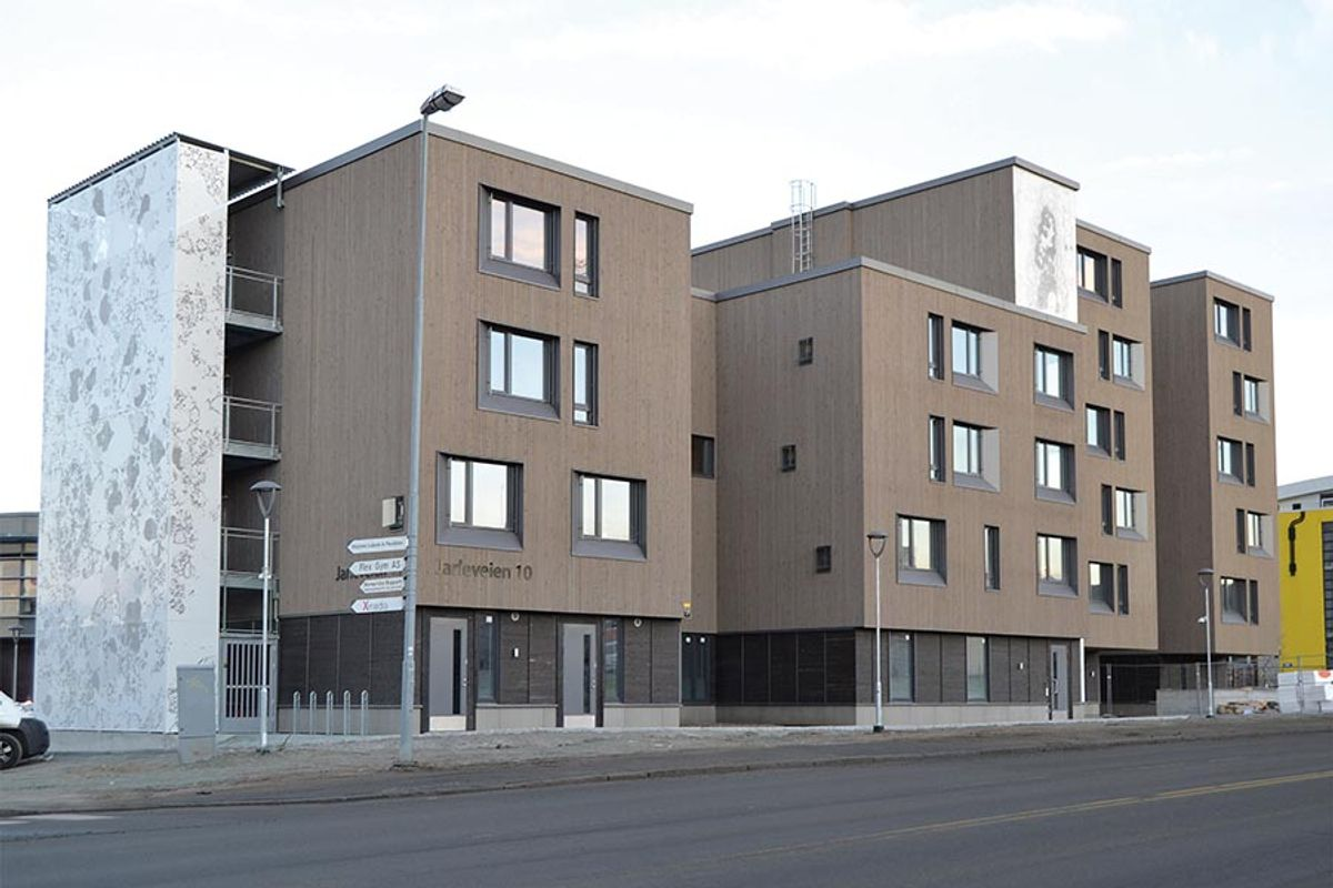 Facade of Jarleveien 10 (image)