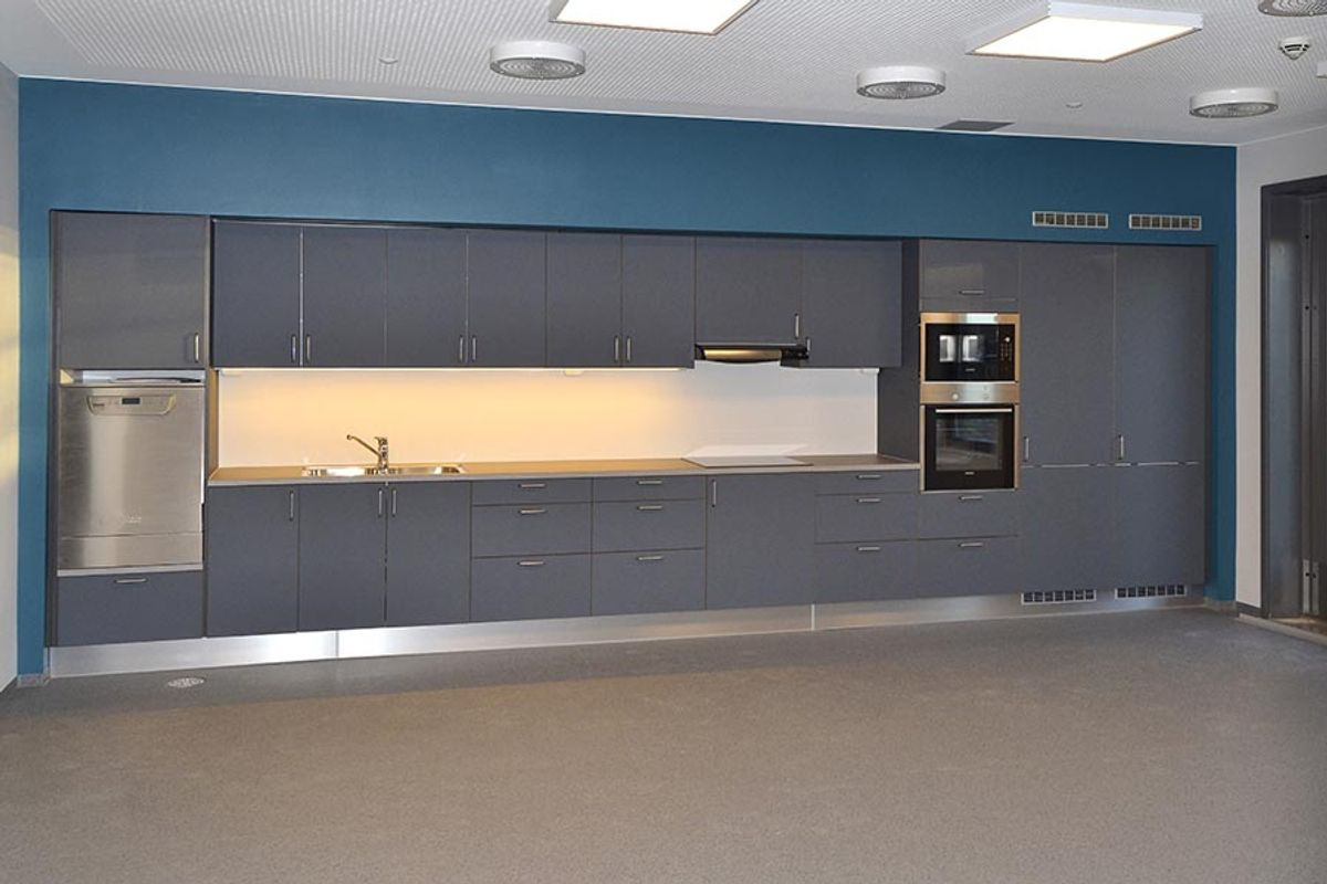 Common area with kitchen (image)