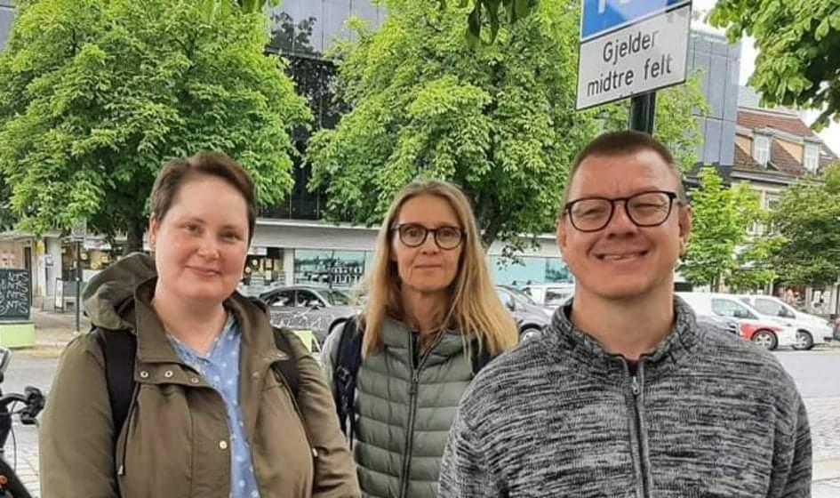 Aud Witsø og prosjektgruppe